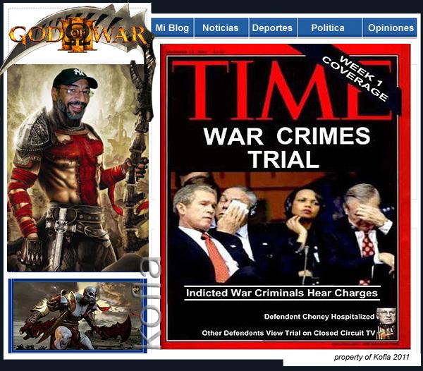 Bush criminal de guerra