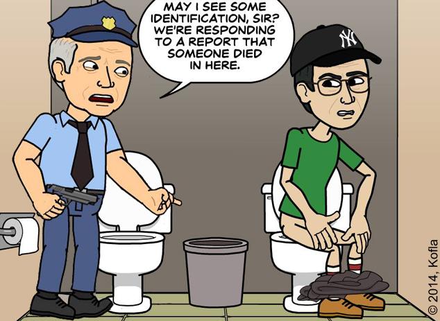 Police bitstrips