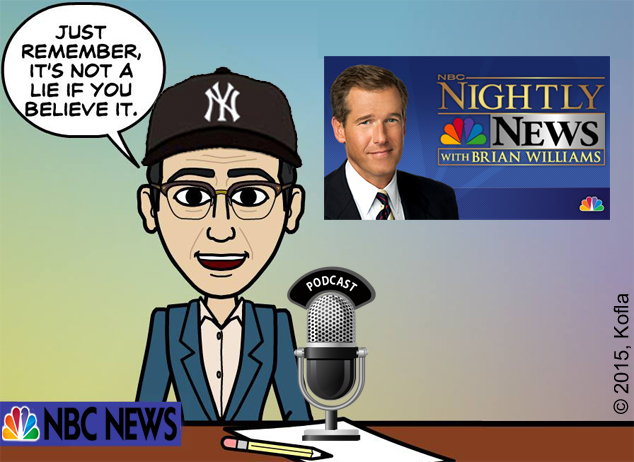 Brian williams lied bitstrips