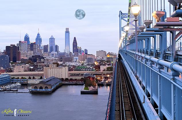 Benjamin Franklin Bridge Philadelphia