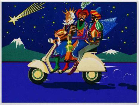 Tres Reyes Magos en Motora