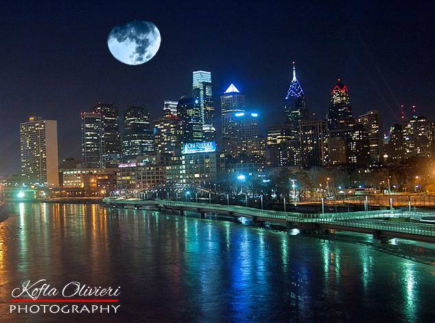 Filadelfia de Noche