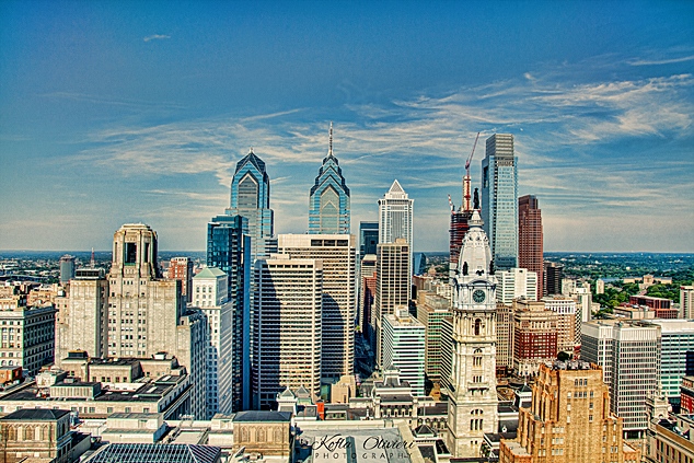 Philly City Skyline 634