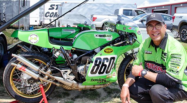 Vintage NJ Motorsports Kawasaki H2R 634