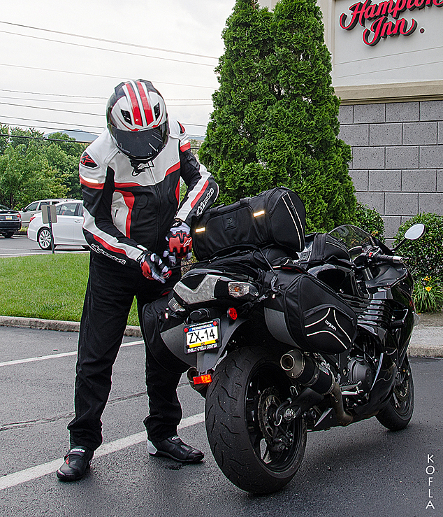 Hampton Inn Roanoke Kawasaki ZX14
