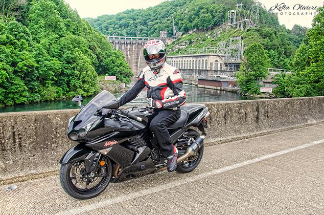Cheoah Dam Kawasaki ZX14 Kofla Olivieri