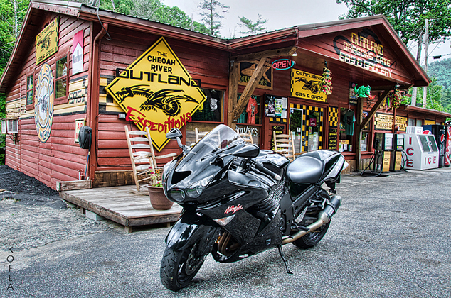 Outland Expeditions Kawasaki ZX14 Tail of the Dragon