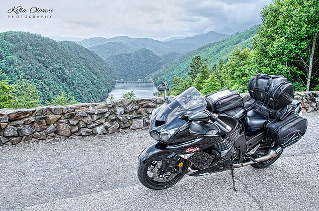 Dragon Scenic Overlook Kawasaki ZX14