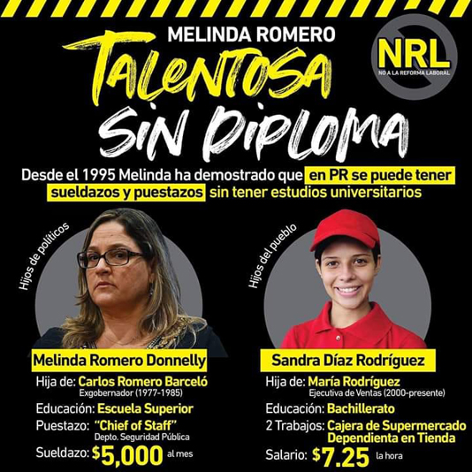 Melinda Romero Talentosa diploma